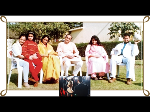 Ameeta and family photos with friends and relatives