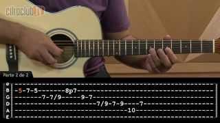 Se Eu Pedir Cê Volta - Jorge e Mateus (aula de violão completa)