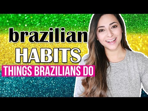 14 BRAZILIAN HABITS | DIFFERENCES BETWEEN BRAZILIANS AND BRITISH | Ysis Lorenna