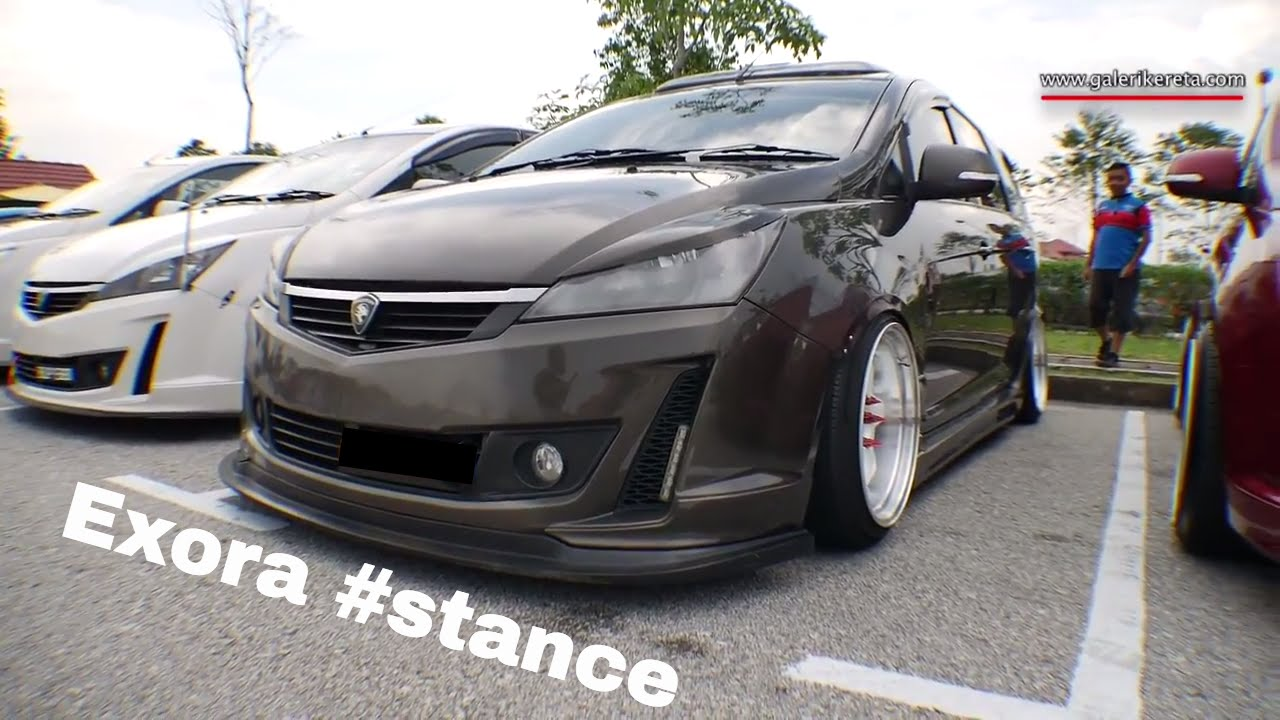 Proton Exora Bold 2016 Stance Modified | Meet and Greet ...