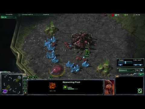 StarCraft 2 - [Z] 6 Pool Rush - Strategy