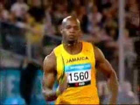 Sprinters: Greene, Boldon, Powell, Johnson