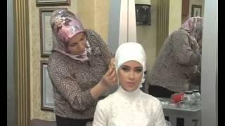 Türbanlı gelinbaşında rahibe duvak modeli nasıl yapılır?
