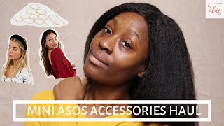 WHAT I BOUGHT FROM ASOS | MINI ASOS ACCESSORIES HAUL | byalicexo