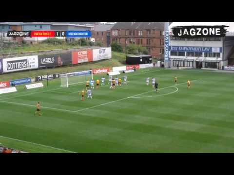 Partick Thistle Have Goal Disallowed Against Greenock Despite Ball Clearly Hitting Back Of The Net