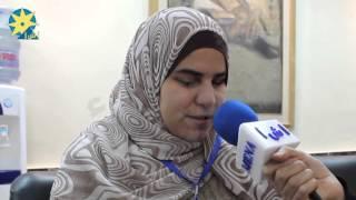 شاهد بالفيديو رحاب حمدي تتحدى إعاقتها وتشارك في نشاطات شركة ability