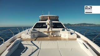 [ENG] AZIMUT GRANDE 27 METRI -  4K Full Review - The Boat Show