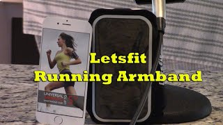 Letsfit Running Armband #ProductReview