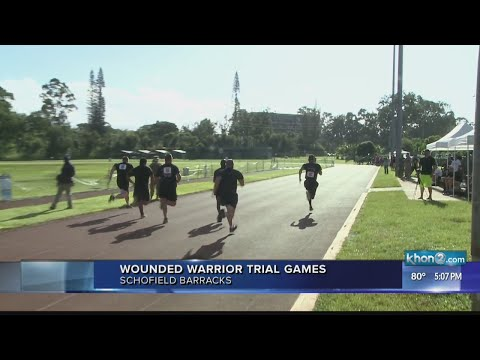 Wounded warriors get competitive at Schofield Barracks