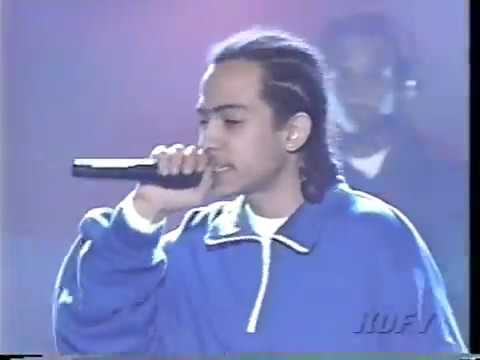 "Kris Kross ft. Da Brat, Aaliyah, JD & Mr. Black ""Live and Die for Hip Hop"" [Soul Train 1996]"