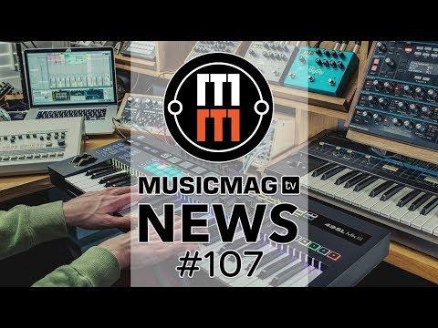 MUSICMAG TV NEWS #107: Железячный сэмплер Pipes, чудо-балайка от AKAI, SL MkIII от Novation и др.