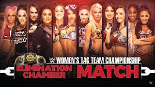 WWE Elimination Chamber 2019 - Elimination Chamber Match (Women's Tag Team Championship)