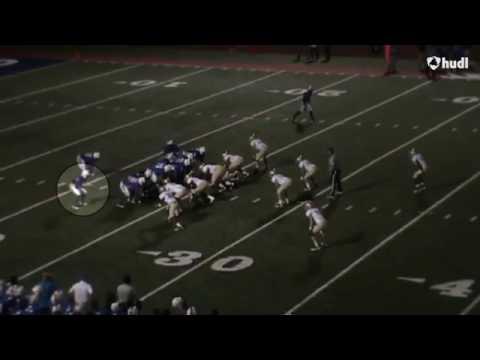 Harrison Sloan West Memphis High School Football Highlights