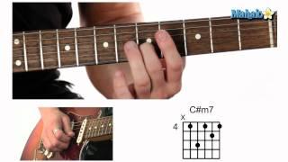 How Play Sharp Minor Seven M7 Chord Guitar