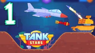 Tank Stars Gameplay | Walkthrough 1