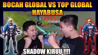 BY1 HAYABUSA SAMA BOCAH TOP GLOBAL FIRST BLOOD HAHAHA - Mobile Legend Bang Bang