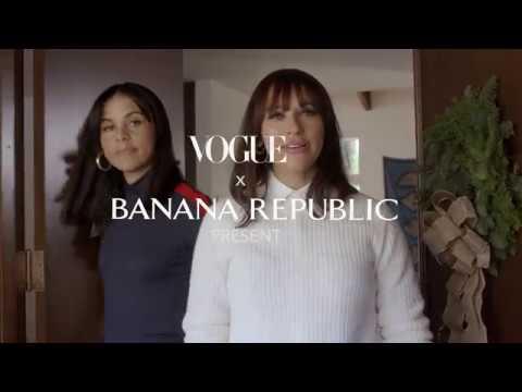 Rashida And Kidada Jones On Throwing The Ultimate Sisters Soiree | Banana Republic Holiday 2018