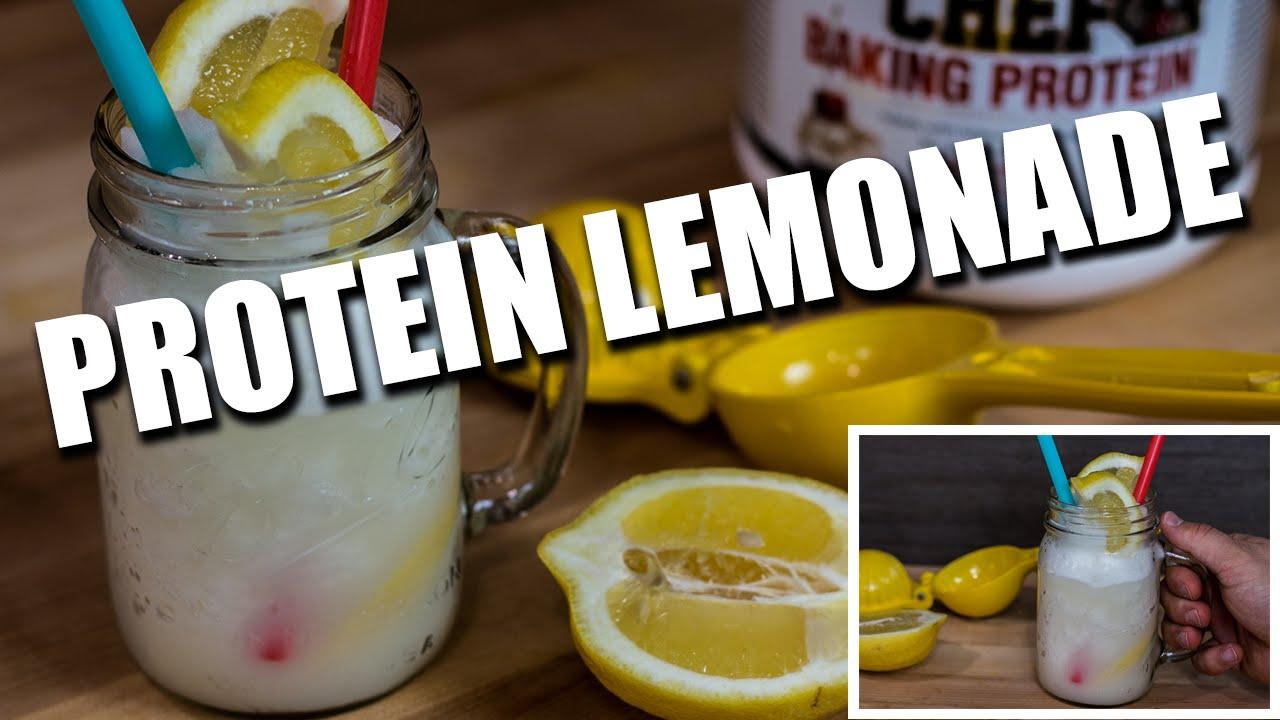 Protein Healthy LOW SUGAR Lemonade Recipe
