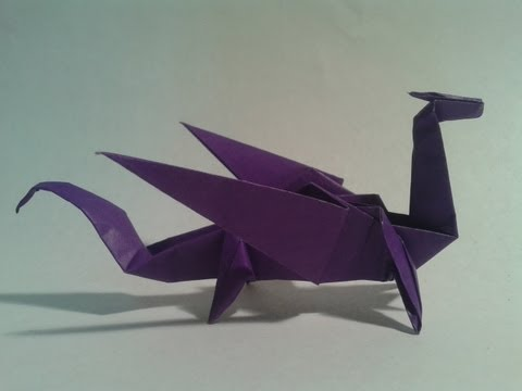 How to make a really easy origami dragon that flies
