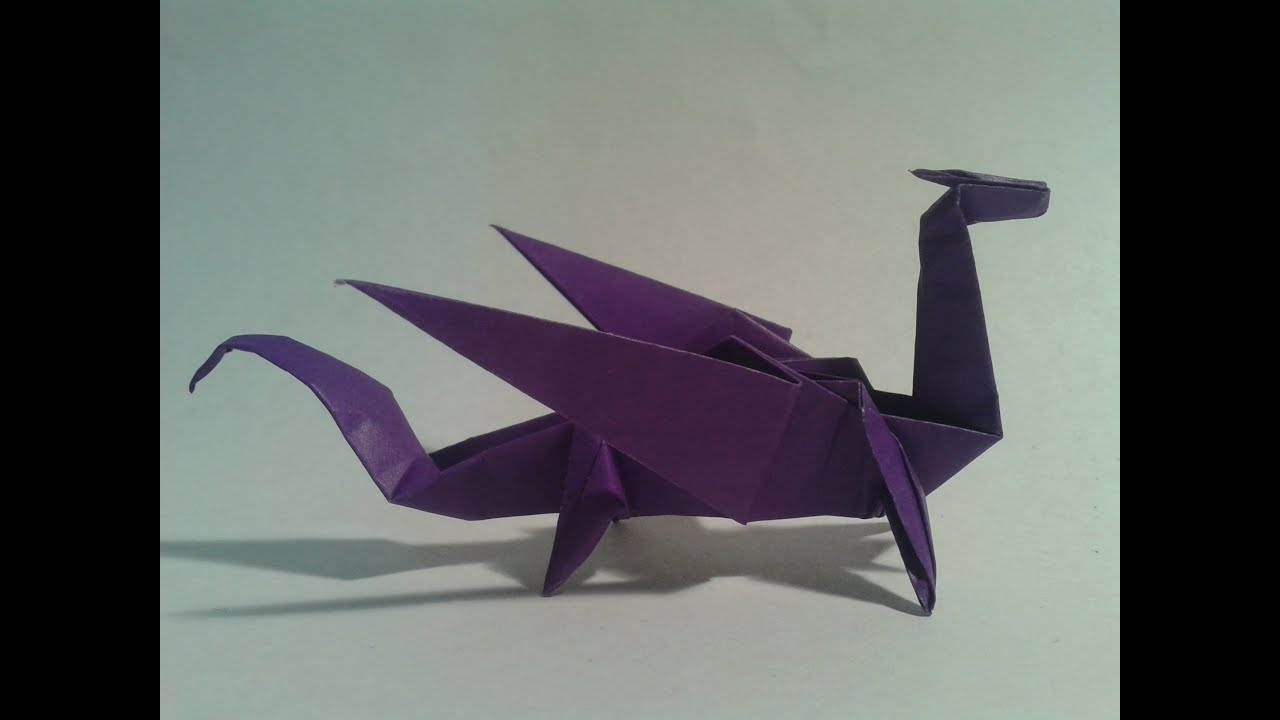 How To Make A Money Origami Dragonfly