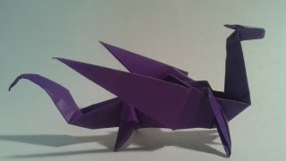 Origami - How to make an easy origami dragon