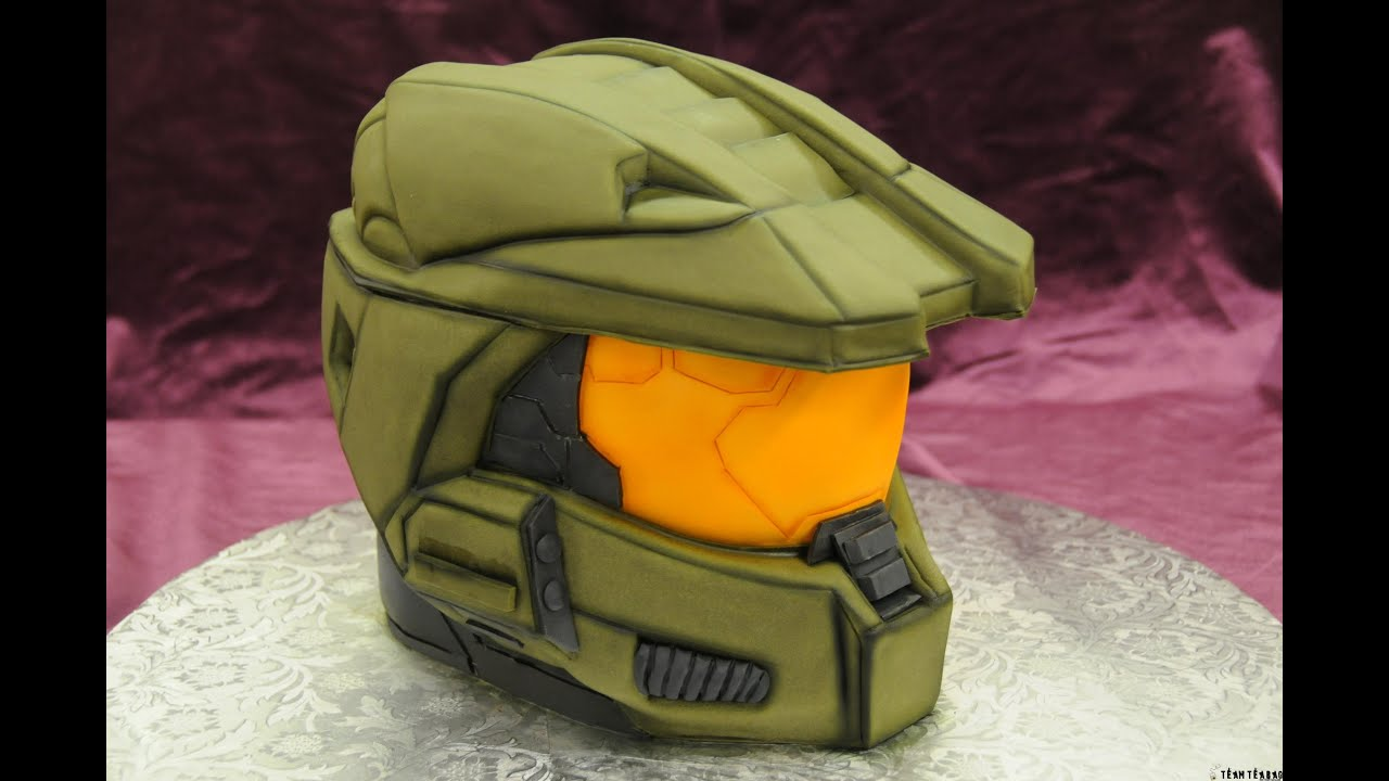 Home made Halo Master Chief cake NAILED IT how to fail Xbox