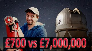 £700 vs £7,000,000: Astrophotography Shoot Out