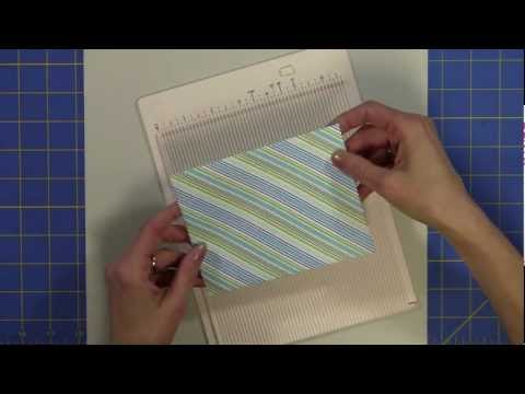 Martha Stewart Mini Scoring Board ....Easiest Envelopes Ever!!!