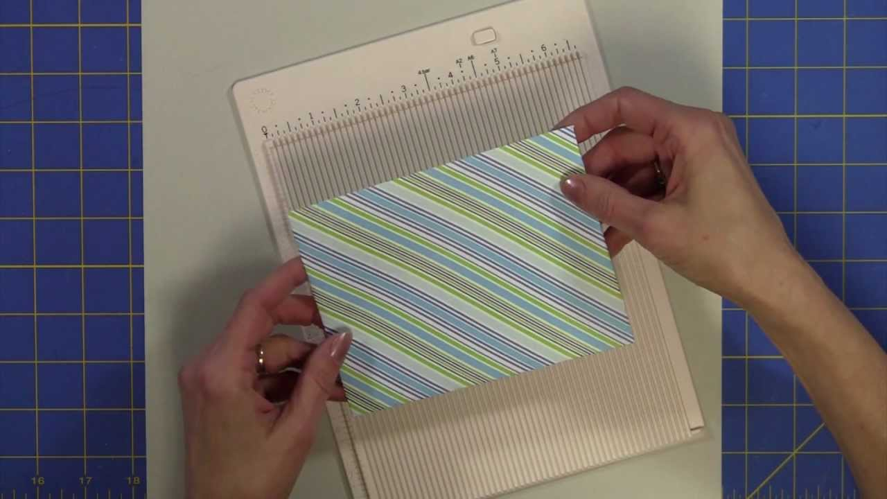 Martha Stewart Mini Scoring Board Easiest Envelopes