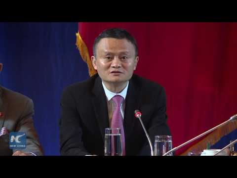 Alibaba's Jack Ma: solve future problems not yesterday's