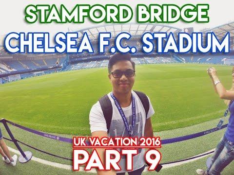 Stamford Bridge - Chelsea FC Stadium Tour - UK Vacation 2016 - PART 9