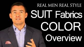 Men's Suit Color Video Guide - Charcoal - Light Grey - Navy Blue - Black - Brown - Tan - White(http://www.realmenrealstyle.com/free-ebook/ Click this link for a FREE 47 page eBook on men's style and fashion., 2011-07-06T03:49:26.000Z)