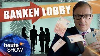 So beherrscht die Bankenlobby die Politik | Martin Klempnow: Der Lobbyist | heute-show