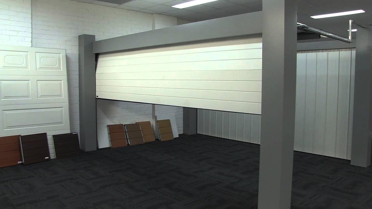 9 9 Sectional Garage Door : Automatic sectional garage door demonstration youtube
