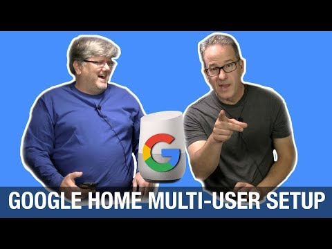 Google Home Multiple User Accounts Setup