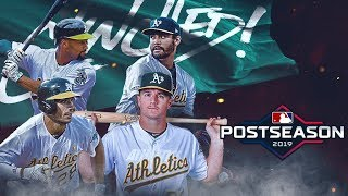 Oakland Athletics clinch Wild Card spot for 2nd straight year! | How They Got There