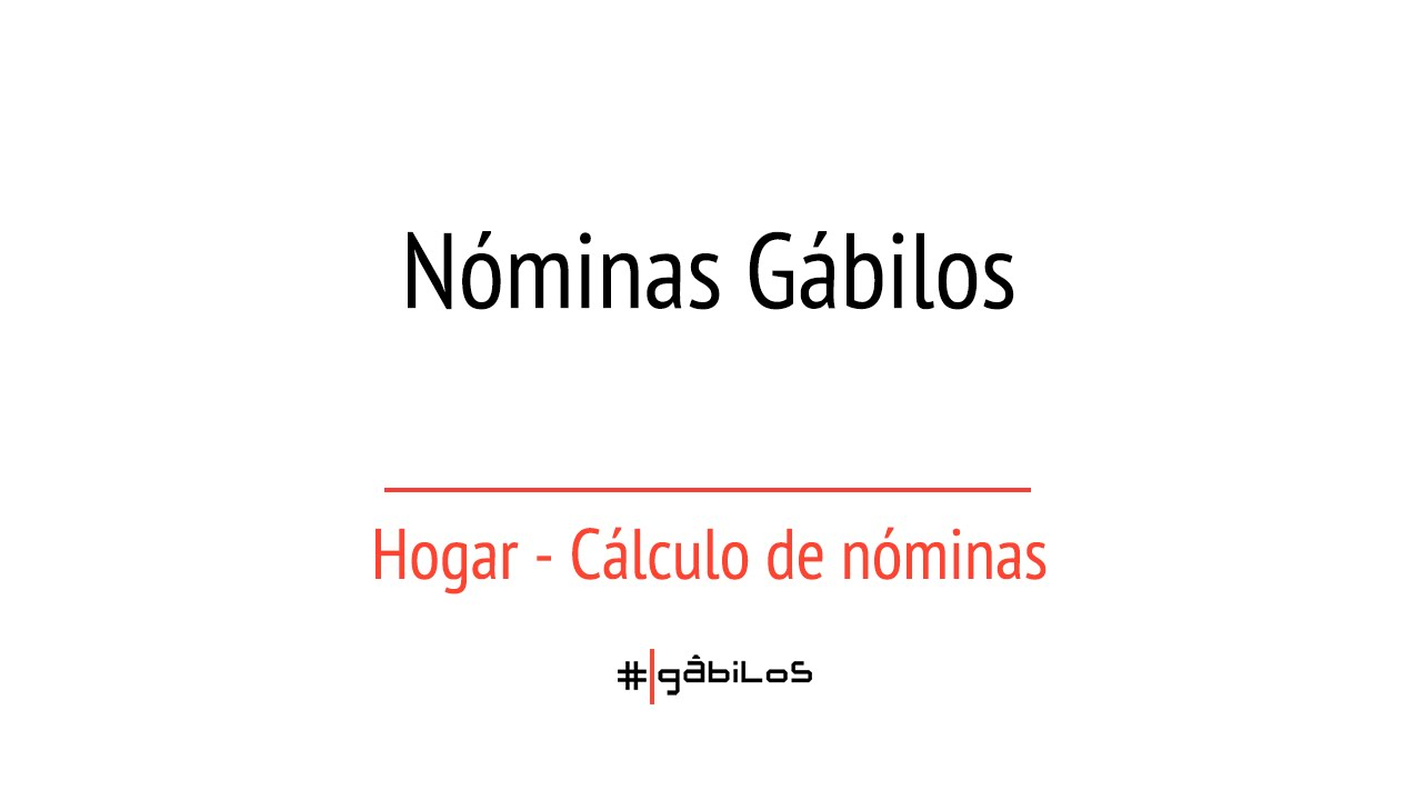 calcular nominas
