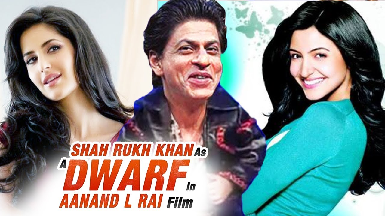 Image result for SRK Dwarf Movie to include Deepika Padukone,Anushka Sharma and Katrina Kaif
