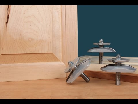 Infinity Cutting Tools Raised Panel Router Bits With Backcutter