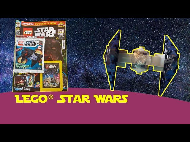 Lego Star Wars Magazin Heft 64 mit Sith Eternal Tie Dagger - Gewinnspiel