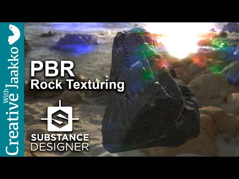 Substance Designer PBR Rock Texture