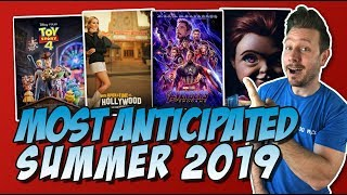 Top 10 Most Anticipated Movies of Summer 2019!