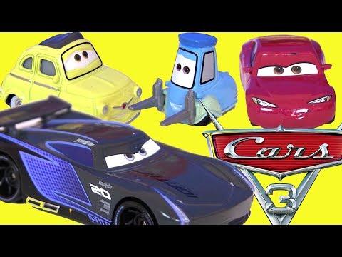 Видео Для детей Cars 3 Тачки 3 Мультики про Машинки Молния Маквин Мультик