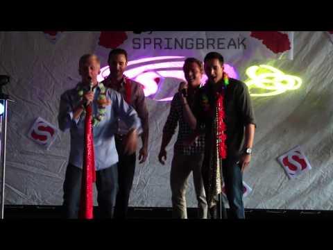 "Karaoke Night 04112014 70D Mark, Patrick, Ryan Brandt, & Ryan Pannone perform ""Summer Girls"""