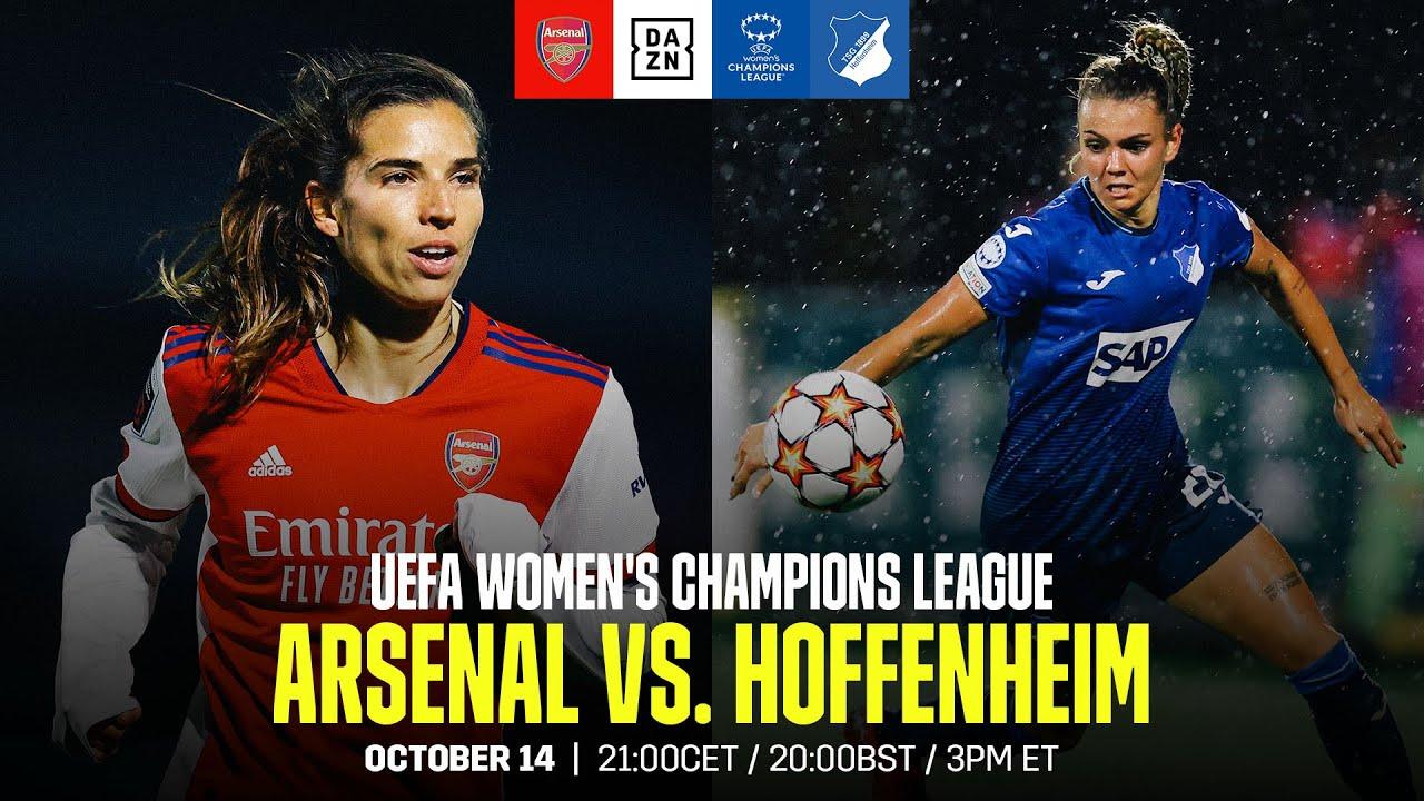 Download Arsenal vs. Hoffenheim | UEFA Women's Champions League Matchday 2 Full Match