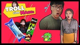 Troll bánh Oreo nhân Wasabi và cái kết ĐẮNG || Troll cùng Nabee
