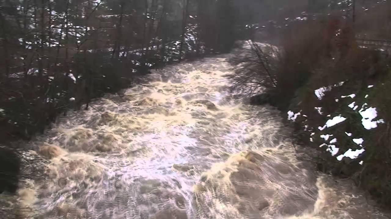 Hochwasser Murg