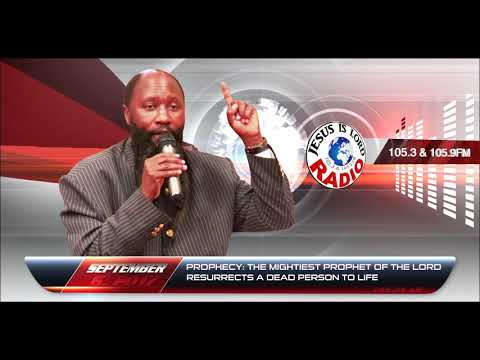 PROPHECY ALERT: THE MIGHTIEST PROPHET OF THE LORD RESURRECTS A DEAD PERSON - PROPHET DR. OWUOR