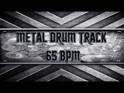DoomStoner Metal Drum Track 65 BPM HQ,HD