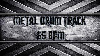 Doom/Stoner Metal Drum Track 65 BPM (HQ,HD)